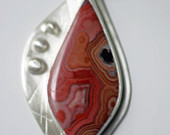 Dryhead Agate in Sterling Silver